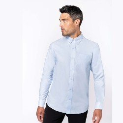 CHEMISE OXFORD MANCHES LONGUES KARIBAN