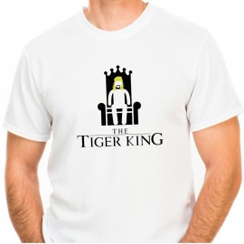TSHIRT HOMME - TIGER KING JOE