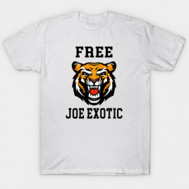 TSHIRT HOMME - FREE JOE EXOTIC