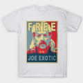 TSHIRT HOMME - JOE EXOTIC FREE 2
