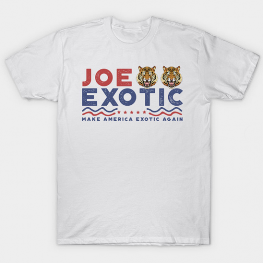 TSHIRT HOMME - MAKE AMERICA JOE EXOTIC AGAIN