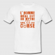 TSHIRT HOMME - homme ideal mythe ....Corse