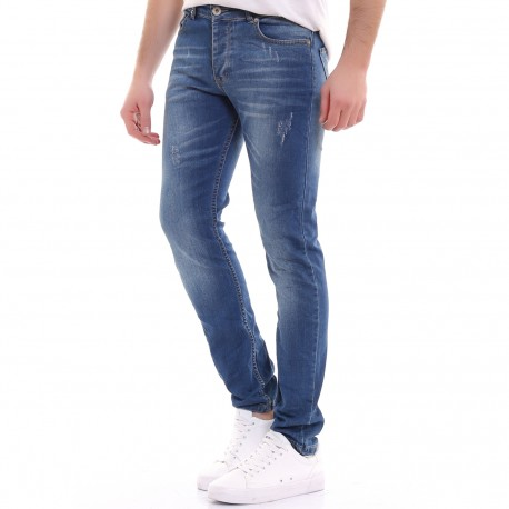 Jeans jomme coupe slim - 2176